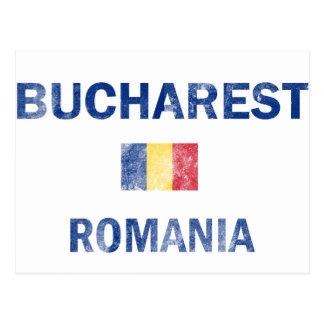Bucharest Romania Designs Postcard