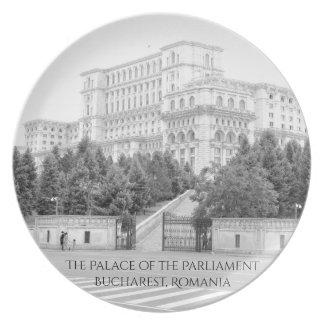Bucharest, Romania Dinner Plates