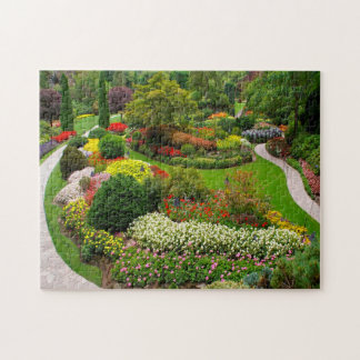 Buchart Gardens Vancouver. Jigsaw Puzzle