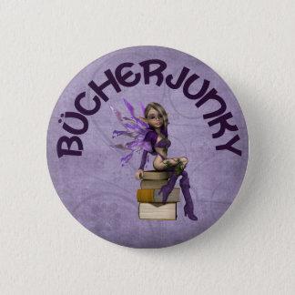 Bücherjunky 2 Inch Round Button