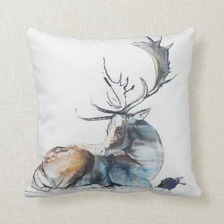 Buck and Bird 2006 Throw Pillow