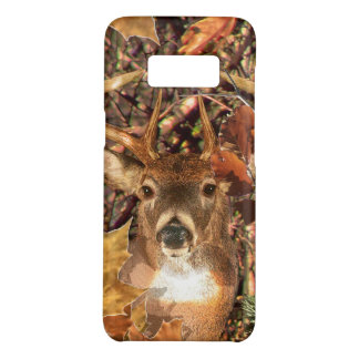 Buck Camouflage White Tail Deer Decor on a Case-Mate Samsung Galaxy S8 Case