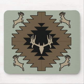 Buck deer American Indian art Mouse Pad