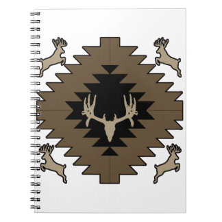 Buck deer American Indian art Note Books