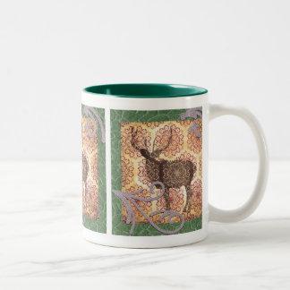 Buck deer mug
