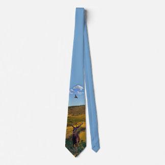 Buck Deer Pasture Tie