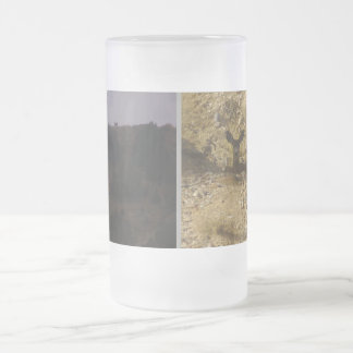 Buck Does Frosted 16 oz Glass Mug