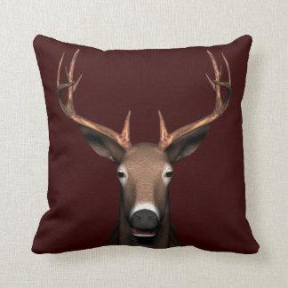 Buck Head Throw Pillow