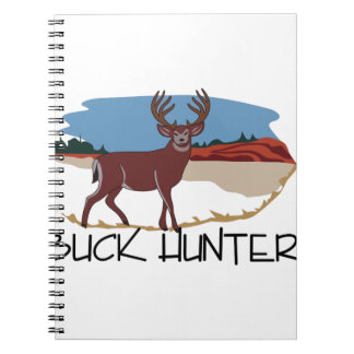Buck Hunter Notebook