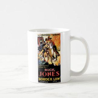 Buck Jones in Border Law Coffee Mug