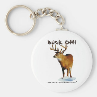 Buck Off! Keychain