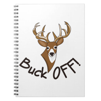 Buck Off Spiral Note Book