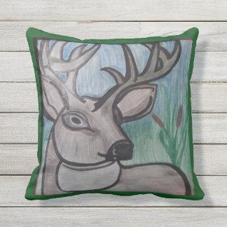 Buck Outdoor Pillow