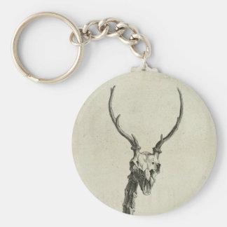 Buck Skeleton Keychain