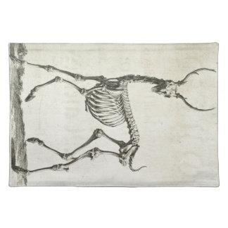 Buck Skeleton Placemat