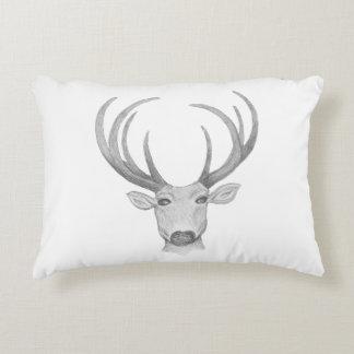 Buck Sketch Pillow