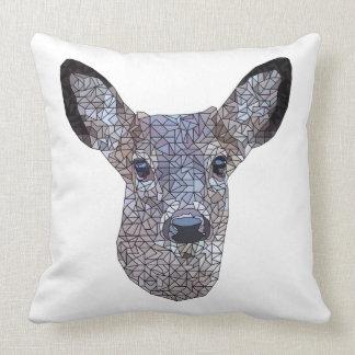Buck the Deer Throw Pillow