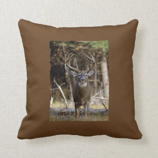 Buck Throw Pillow. Throw Pillow