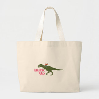Buck Up Large Tote Bag