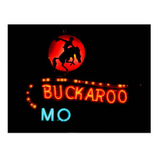 Buckaroo Motel, Tucumcari, New Mexico Postcard
