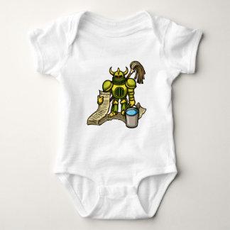 Bucket Knight Baby Bodysuit