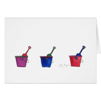 Buckets & Shovels Cards