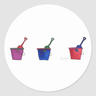 Buckets & Shovels Sticker