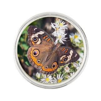 Buckeye Butterfly Lapel Pin