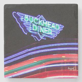 Buckhead Diner, Atlanta, Landmark Marble Coaster