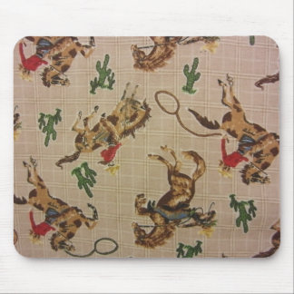 Bucking Bronco Mouse Pad