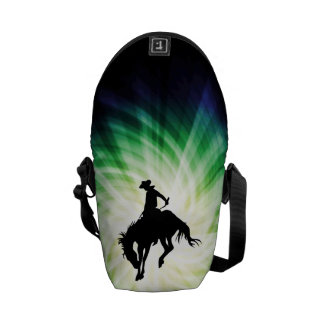Bucking Bronco; Rodeo; Cool Commuter Bag