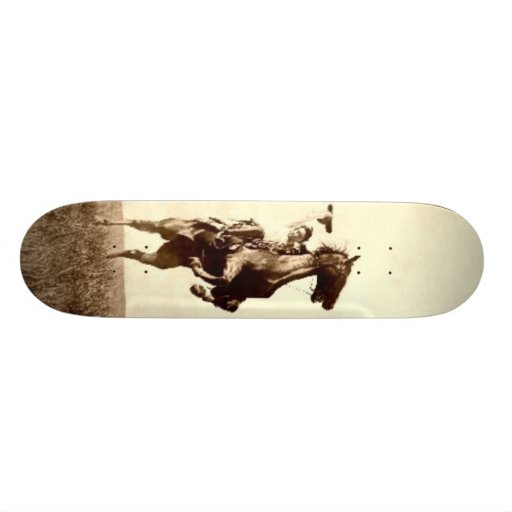 Bucking Bronco Skateboard