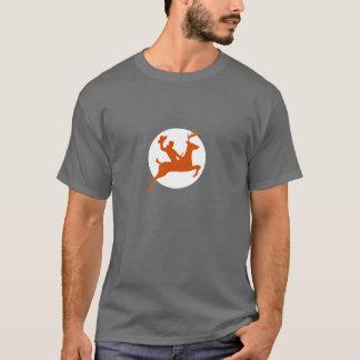 Bucking Buck Reindeer T-Shirt