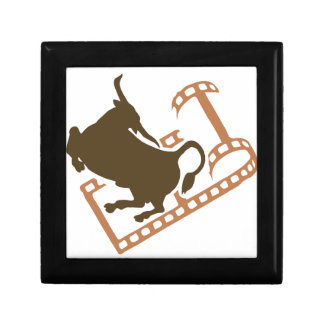 Bucking Bull Film Reel Gift Box