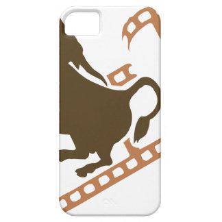 Bucking Bull Film Reel iPhone 5 Case