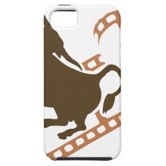 Bucking Bull Film Reel iPhone 5 Covers