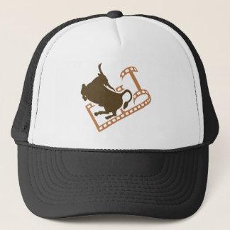 Bucking Bull Film Reel Trucker Hat