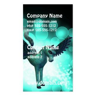 Bucking Pegasus Business Card Templates