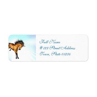 Bucking Unicorn Mailing Labels
