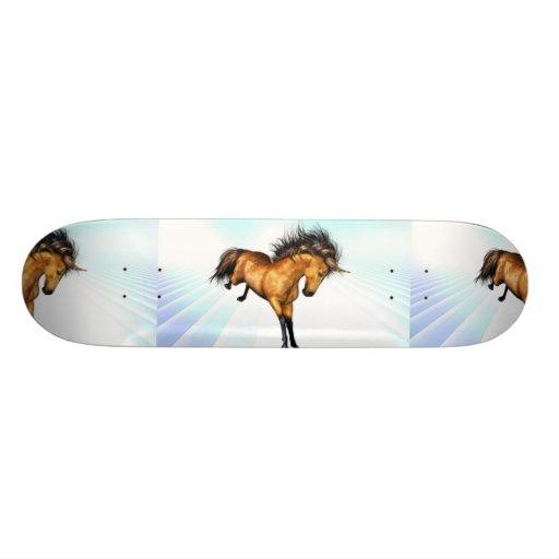 Bucking Unicorn Skateboard
