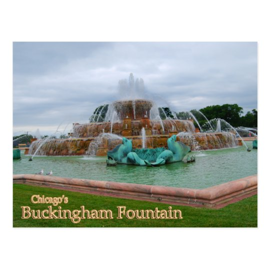 Buckingham Fountain Chicago Postcard