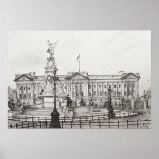 Buckingham Palace London.2006 Poster