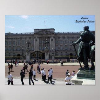 Buckingham Palace London Artistic Poster
