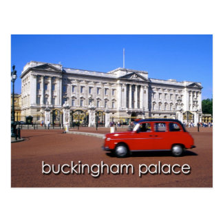 buckingham palace london postcard 15