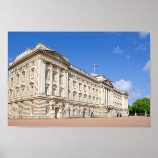 Buckingham Palace, London UK Poster