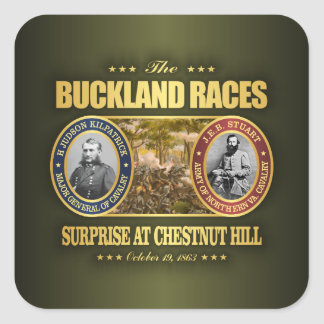 Buckland Races (FH2) Square Sticker
