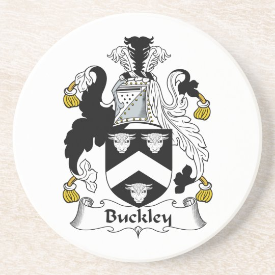 Buckley Family Crest Coaster