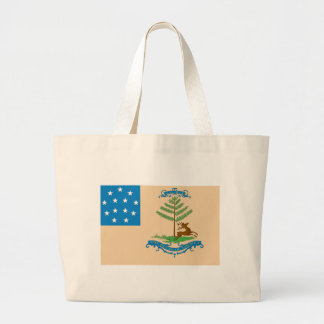 Bucks of America Flag Large Tote Bag