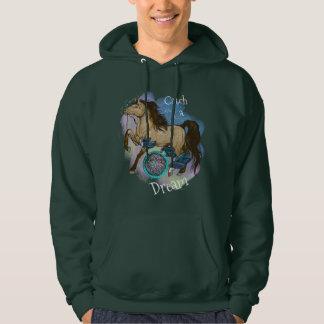 Buckskin Dreamcatcher Horse Catch a Dream Hoodie