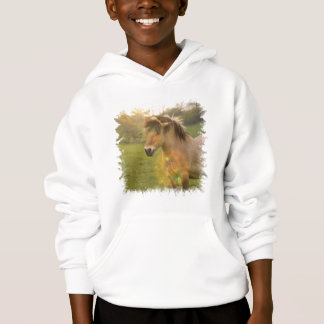 Buckskin Pony Kid's Hooded Sweatshirt